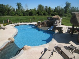 Saline MI Vinyl Liner Gunite Hybrid Pool Legendary Escapes 2009 (361)
