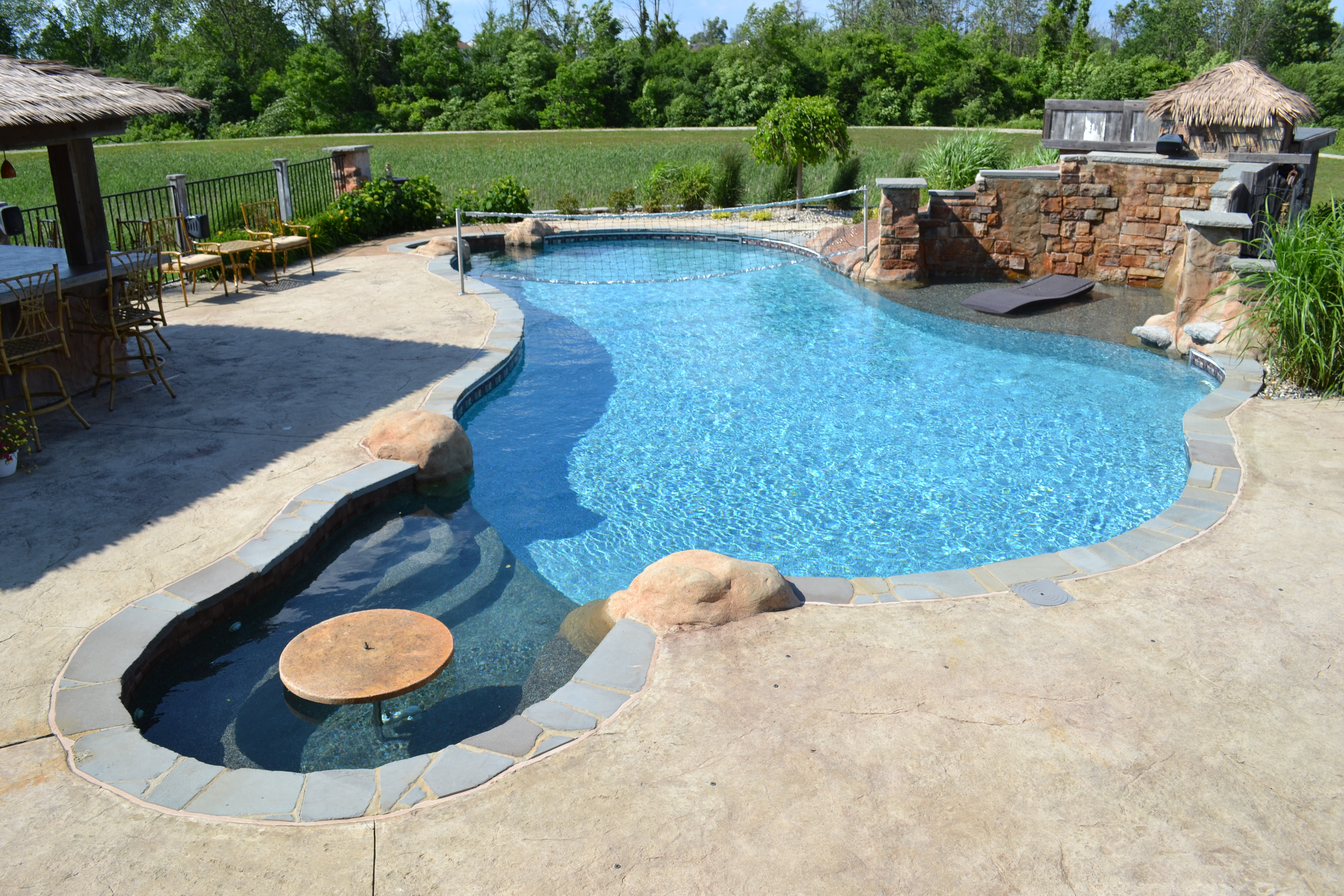 Hybrid Pool Project Saline Michigan