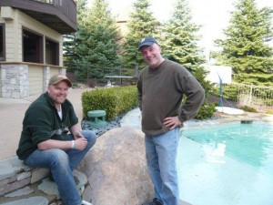Ask the Pool Guy Allan Curtis visits with local homeowner