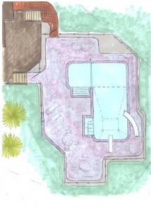 South Lyon Pool designs by Legendary Escapes Pools Final Blueprint