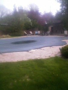 Safety Covered Pool Photo by Pietila Pools Services