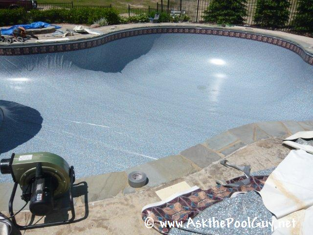 Watch A Vinyl Liner Replacement From Start To Finish Ask