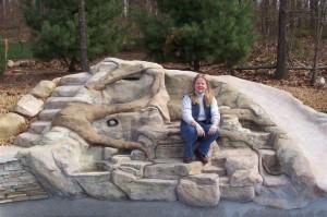 Karen - concrete artisan