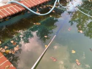 Should I vac my swimming pool before closing?
