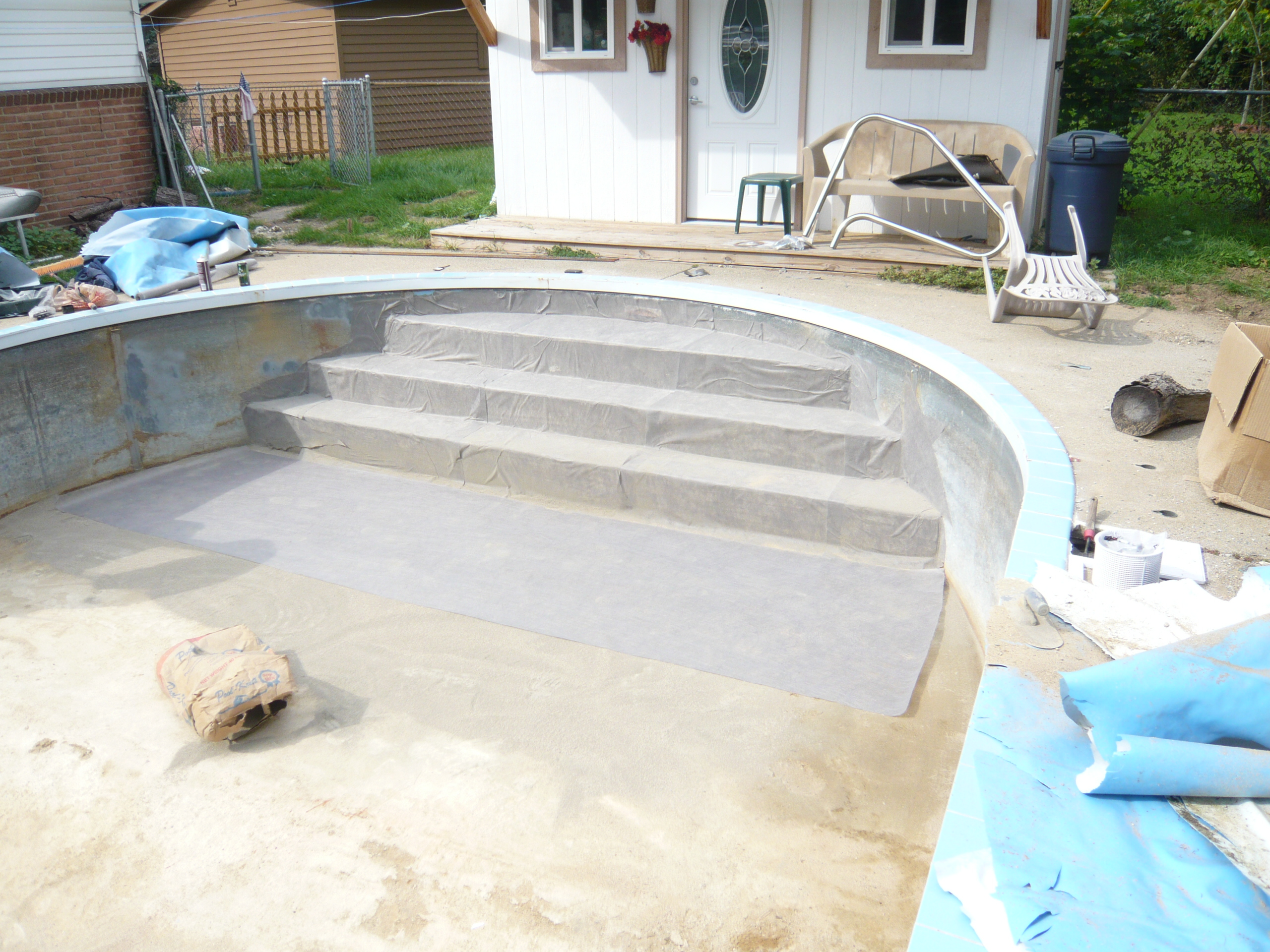 Can I Add Steps To An Existing Vinyl Liner Pool?
