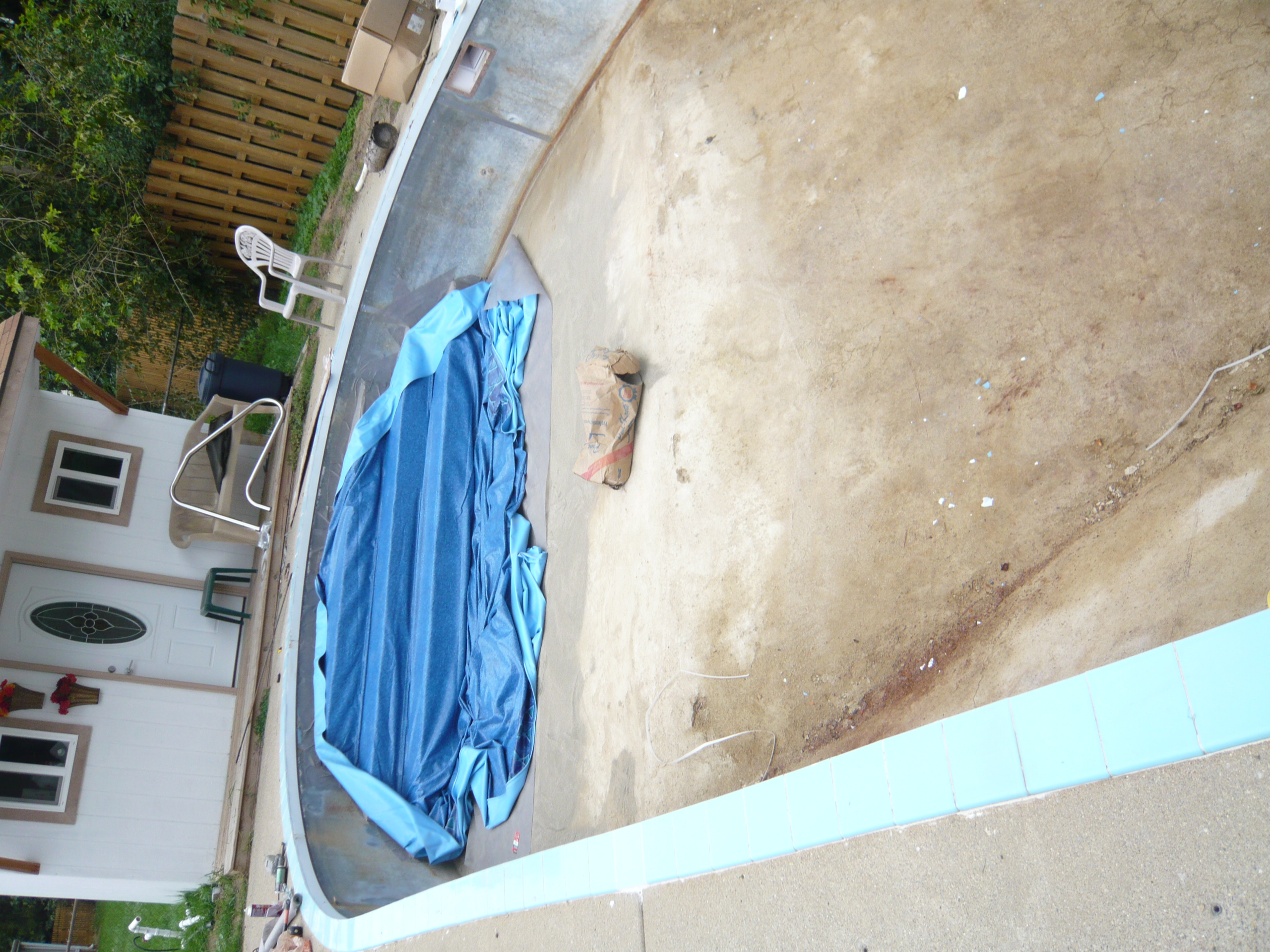 Swimming pool liner replacement by pietila pools services for Pool liner installation