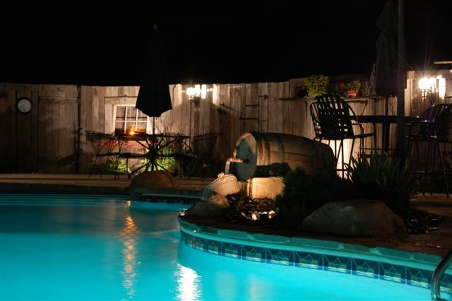 Lighting: Low Voltage Lighting for Swimming Pool Back Yards ...