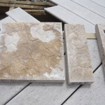 "Coping Material Sample Stone in 1' or 4"" Pieces"