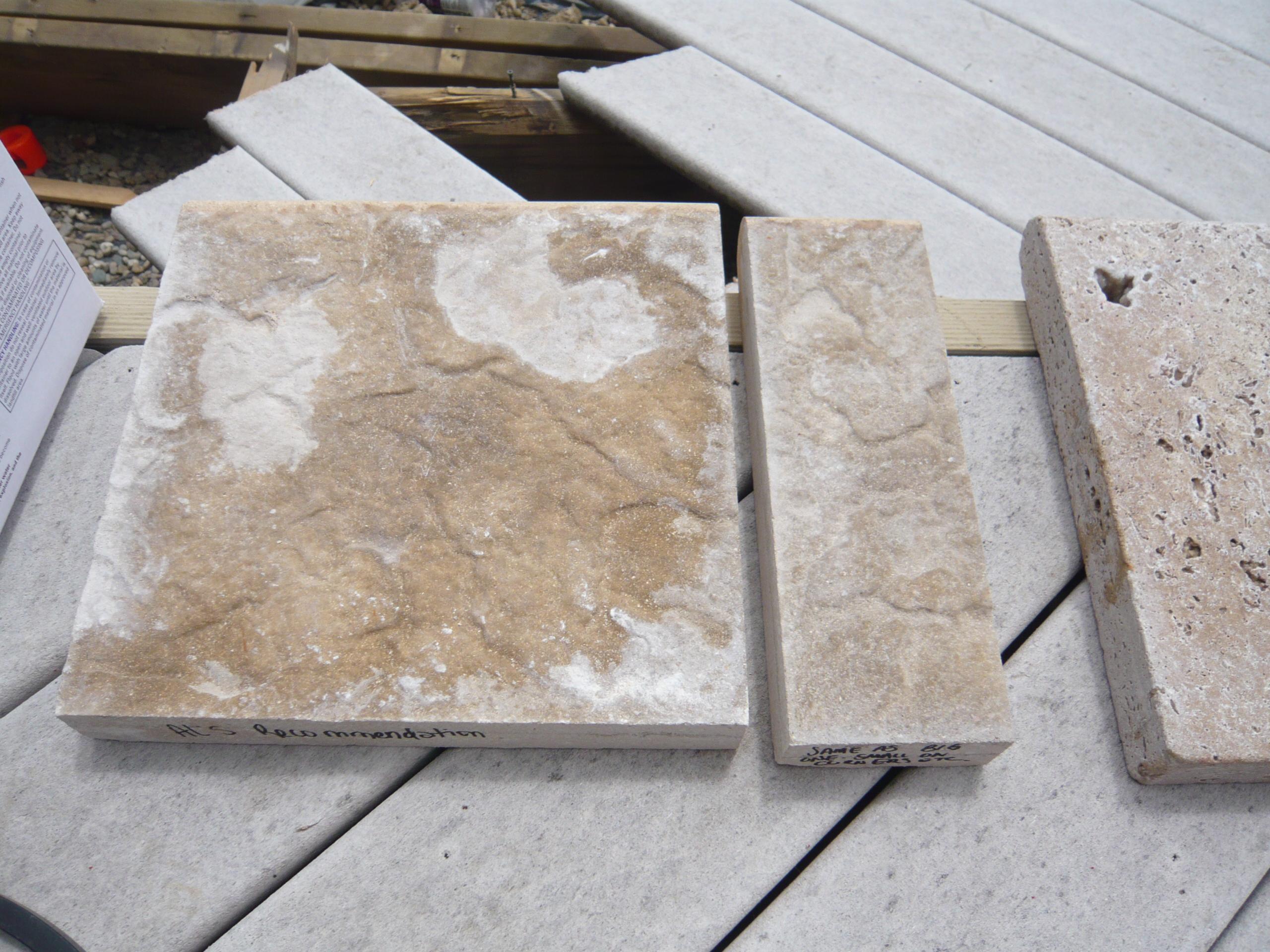 Textured Coping Stones 1