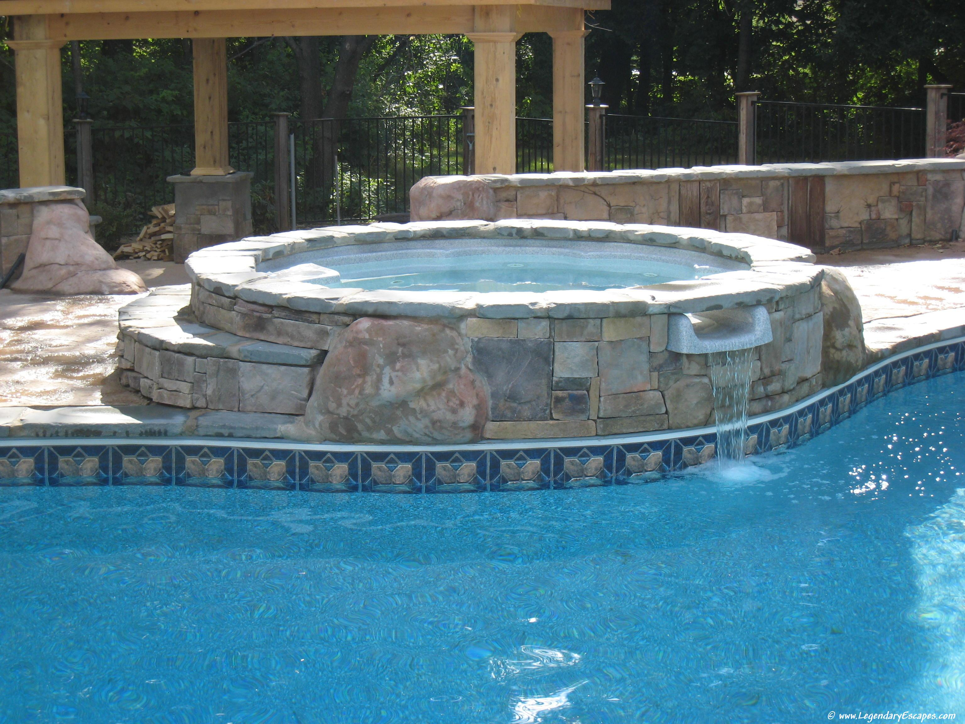swimming pools spas