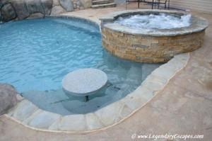 Spa Portfolio of Legendary Escapes Swimming Pools