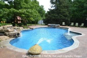 A Hybrid Swimming Pool by Legendary Escapes Ask the Pool Guy, Michigan