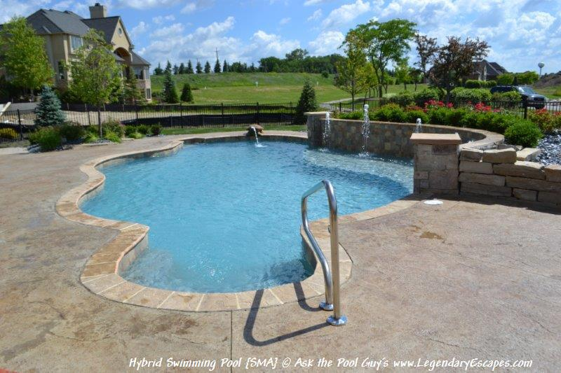 Ask the Pool Guy Pool Renovation Ideas Hybrid Swimming Pool {SMA ...
