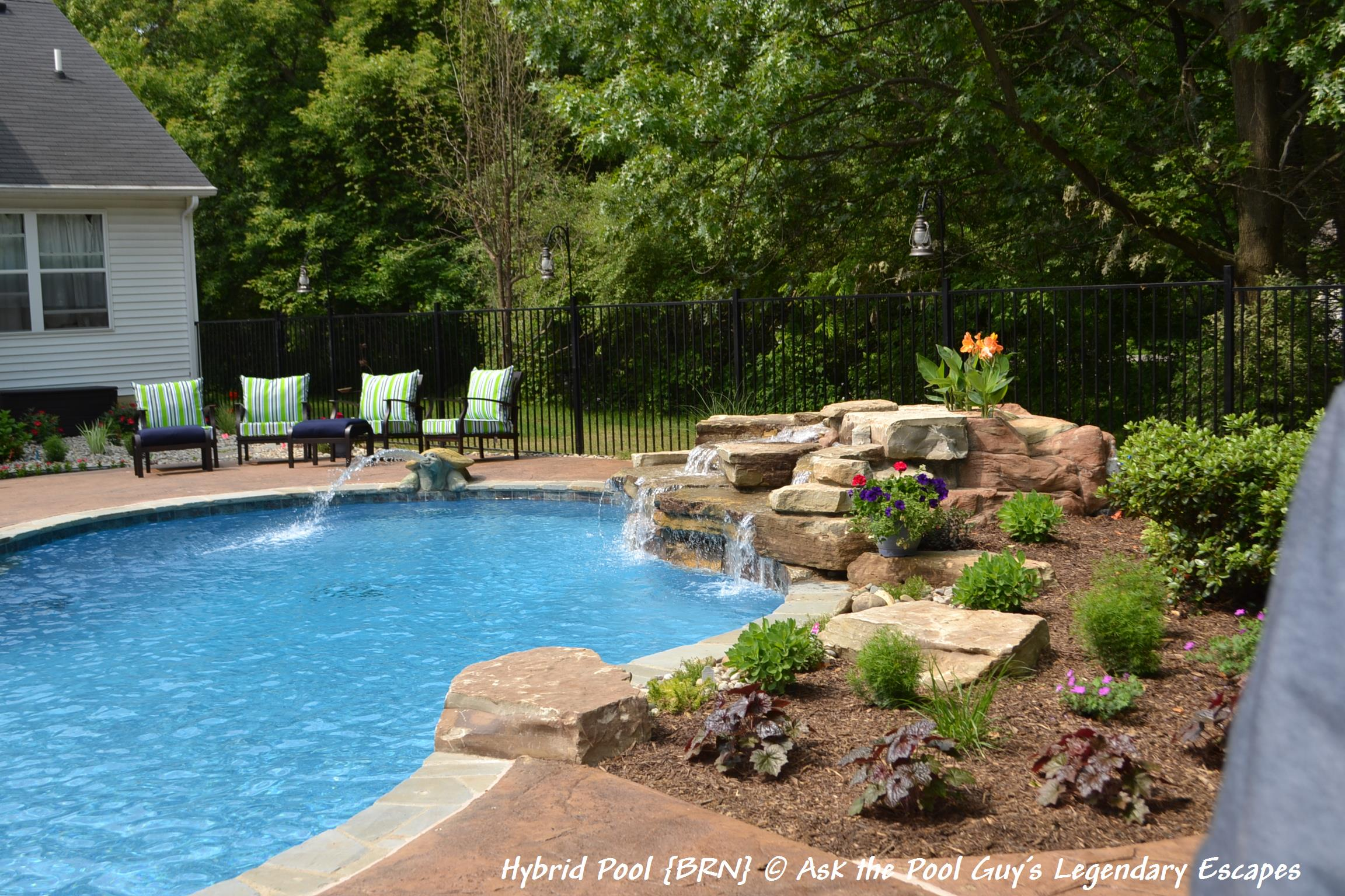 creative updating your swimming pool and back yard u2013 legendary escapes