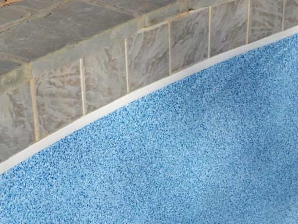 Trutile Ceramic Tile Track For Vinyl Liner Pools