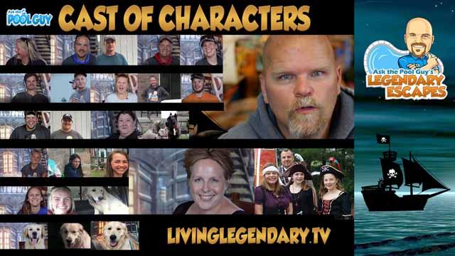 cast legendary escapes