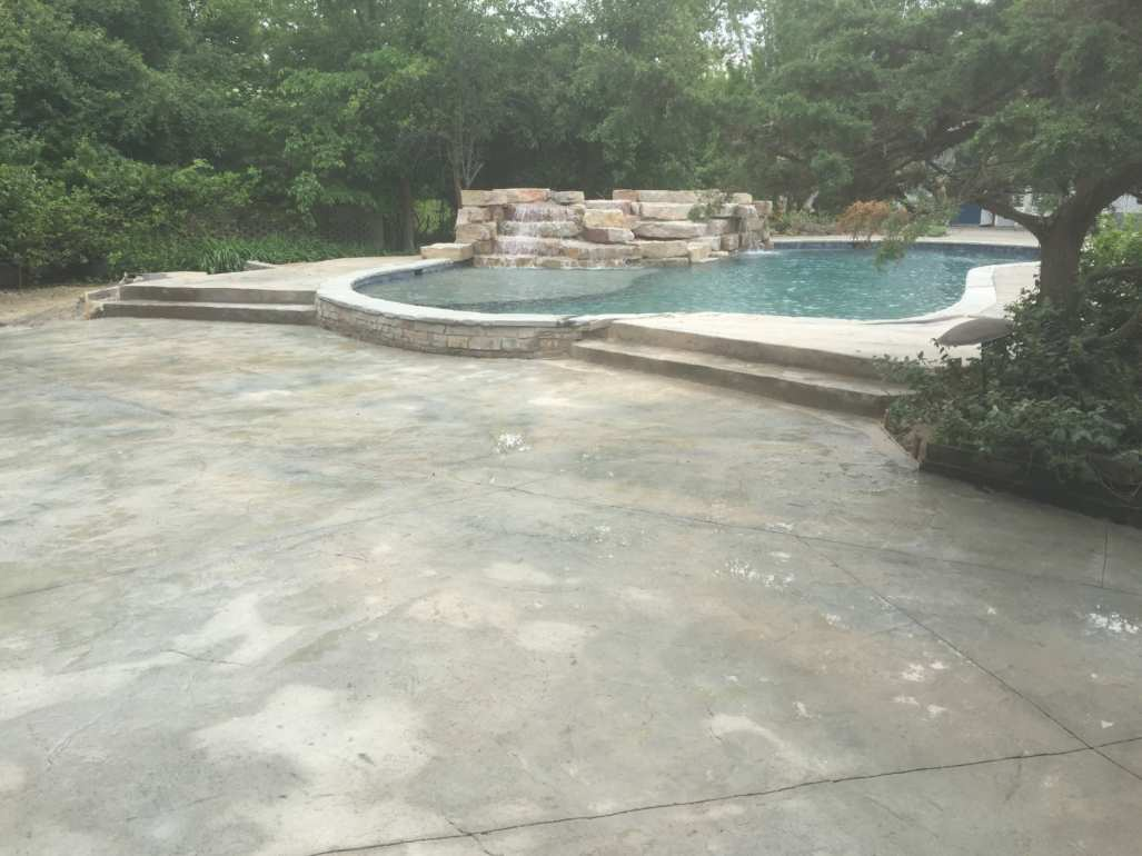 Artist Escape} Gunite Swimming Pool Renovation – Michigan ...